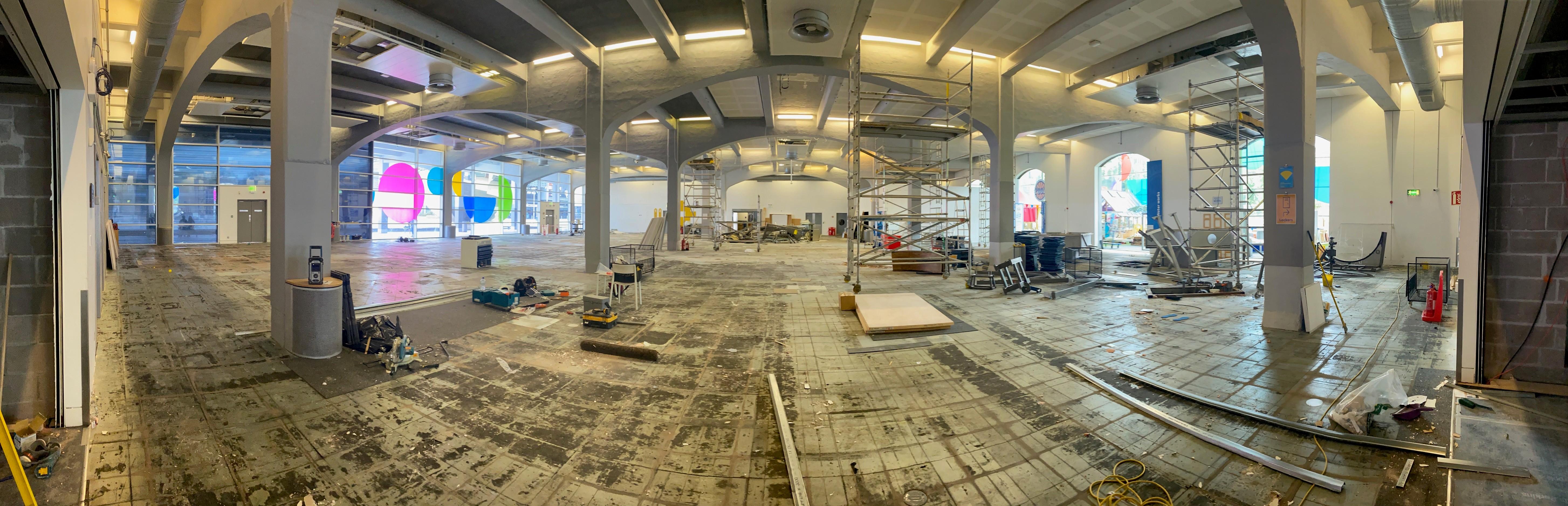 A279 Ground Floor Build Credit Simon Ridge