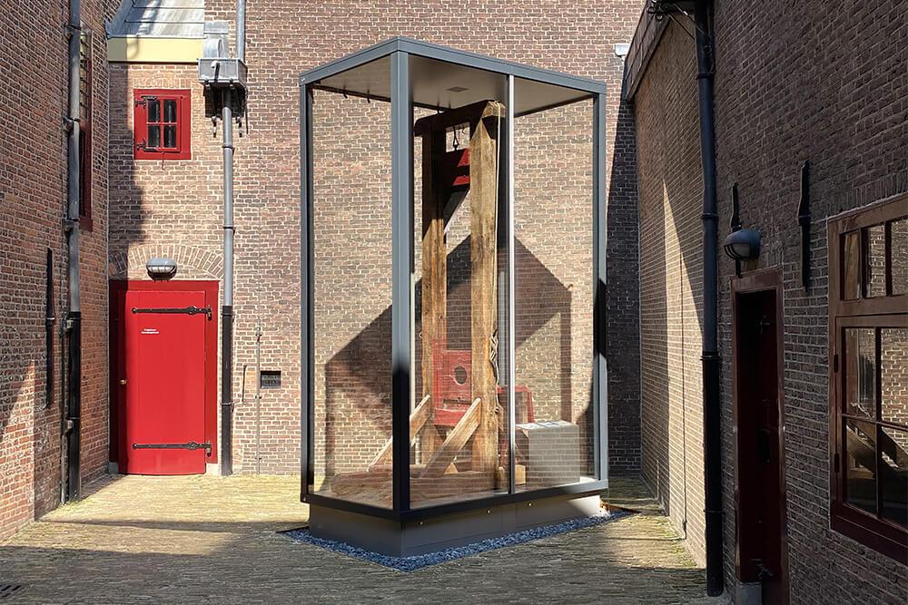 Guillotine Rijksmuseum De Gevangenpoort